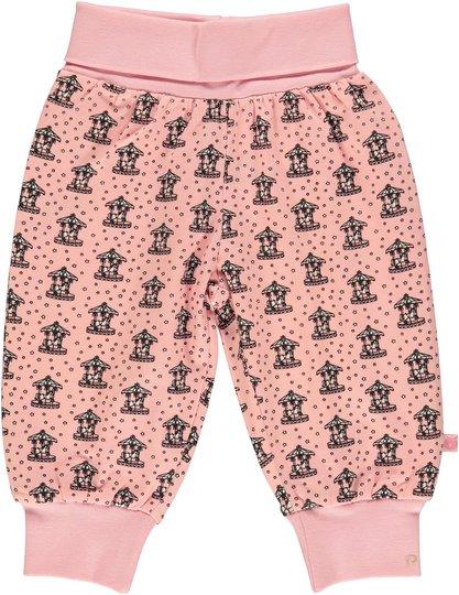 Småfolk Kenzies Carousel Bukse, Silver Pink 56