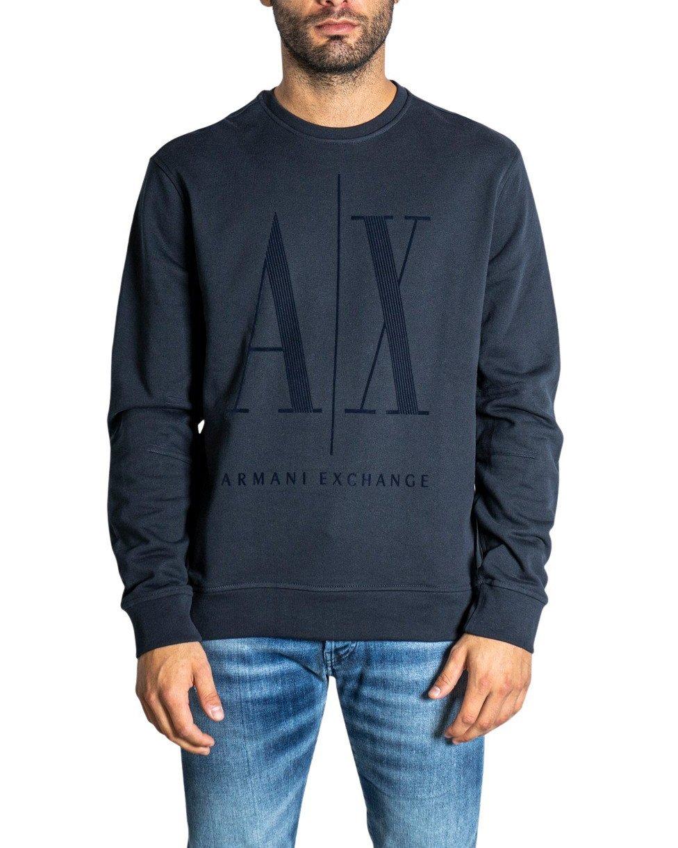 Armani Exchange Women's Sweatshirt Black 198477 - blue XS