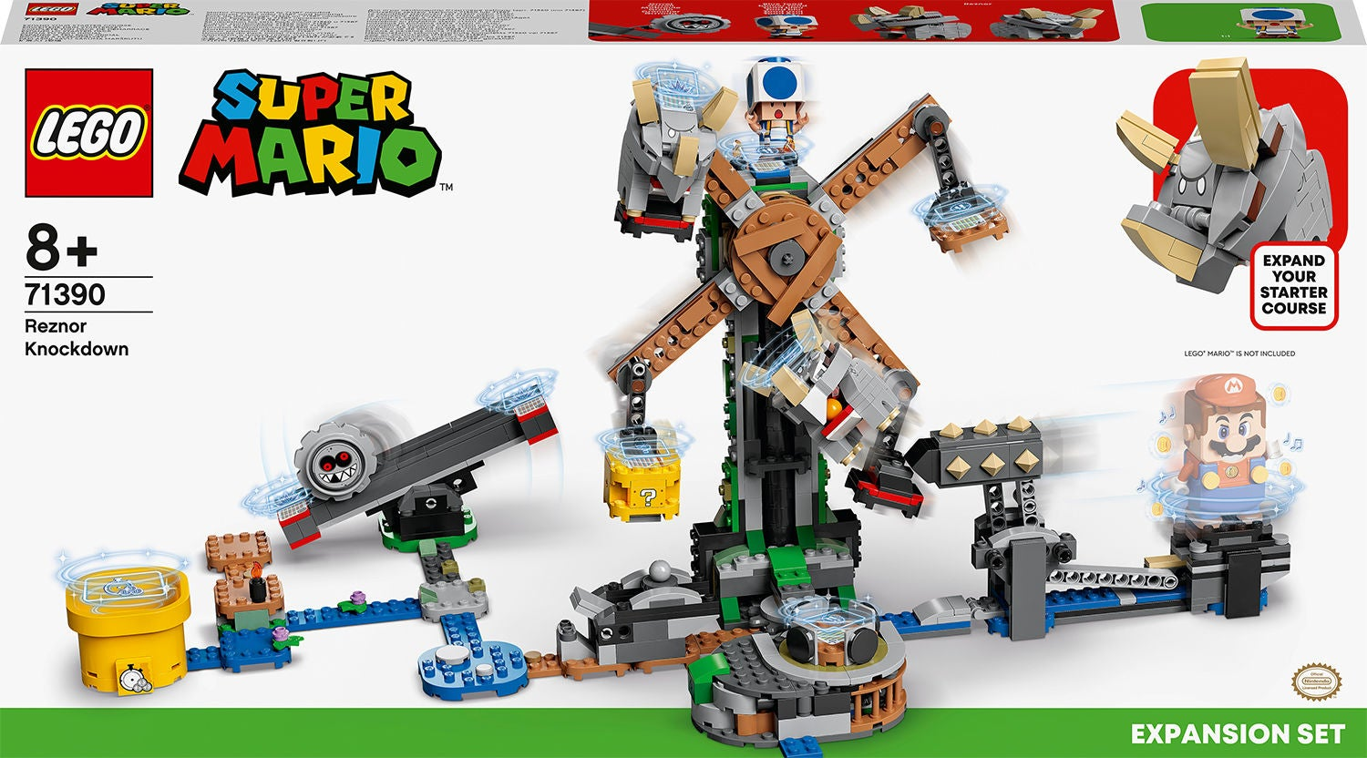 Lego Super Mario 71390 Reznors Anfall – Expansionsset