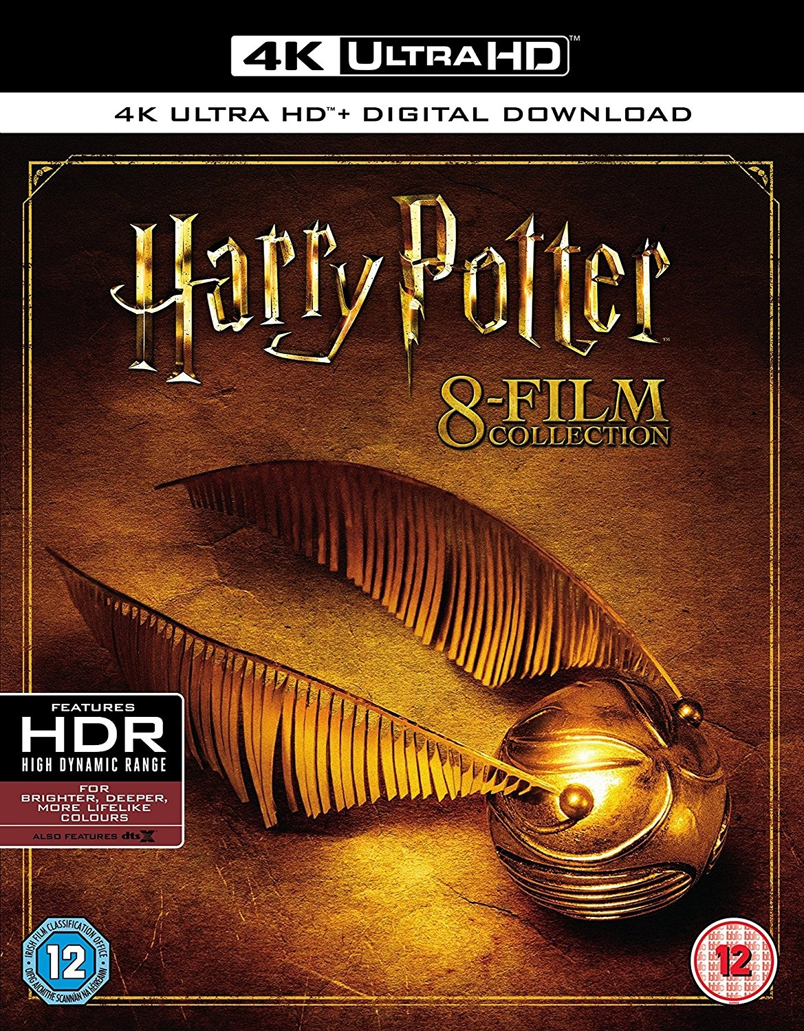 Harry Potter: The Complete 8-film Collection (4K Blu-Ray) (UK Import)