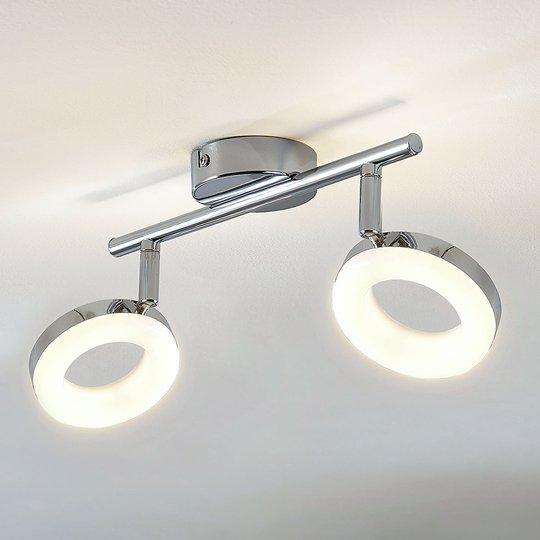 LED-kattovalaisin Ringo, 2-lamppuinen