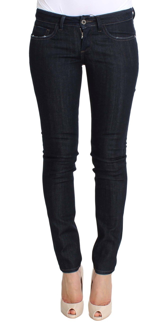 Costume National Women's Cotton Stretch Slim Fit Jeans Blue SIG30216 - W26