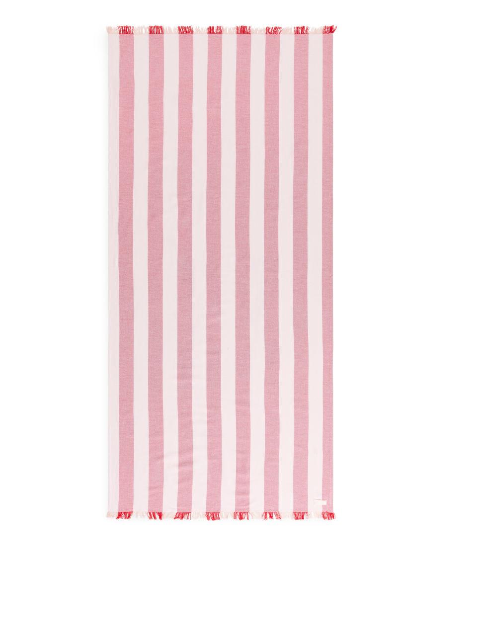Cotton Beach Blanket - Pink