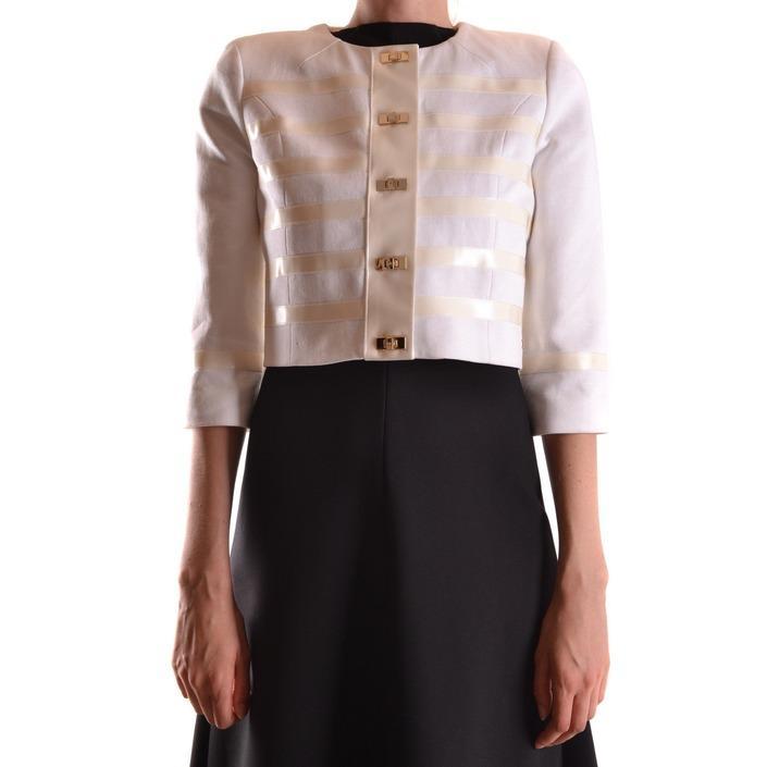 Elisabetta Franchi Women's Blazer White 161213 - white 42