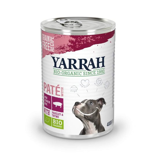 Yarrah Organic Dog Pork Paté
