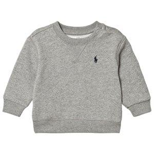 Ralph Lauren Grey Sweatshirt with Small Pony 9 months