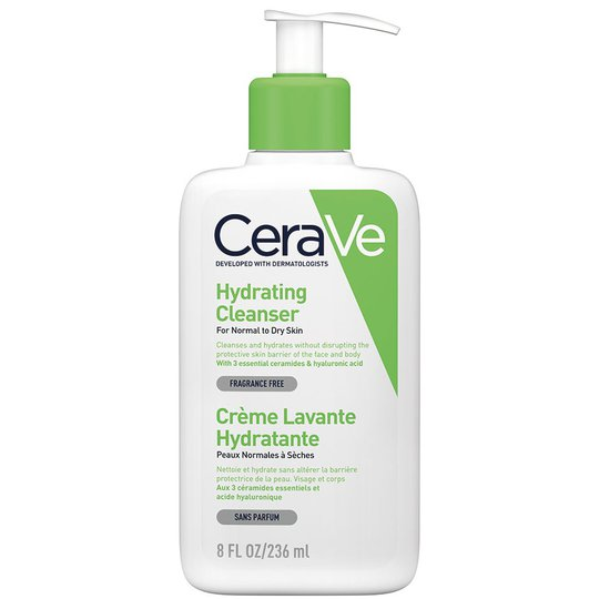 Hydrating cleanser, 236 ml CeraVe Saippuat