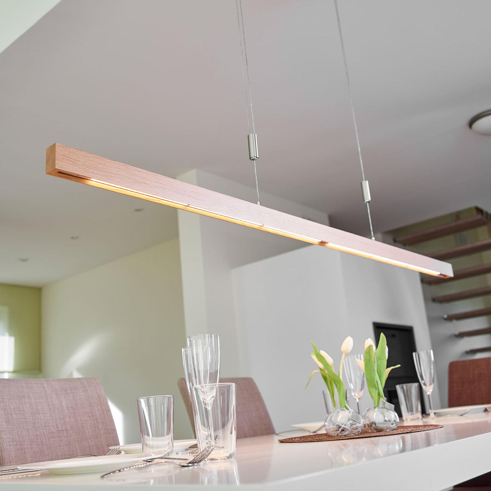 LED-tankoriippuvalaisin Nora tammea, 158 cm