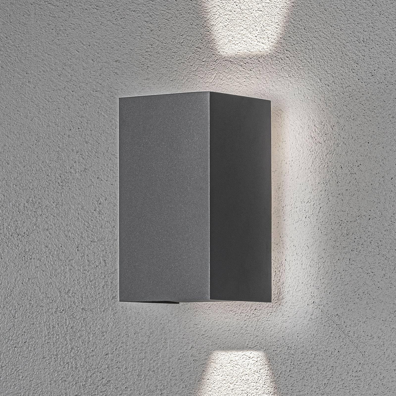 LED-ulkoseinälamppu Cremona taustavalolla