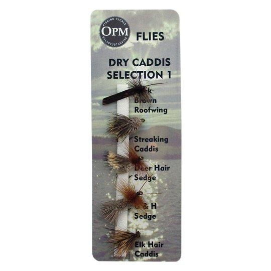 OPM Caddis 1 Flugsortiment