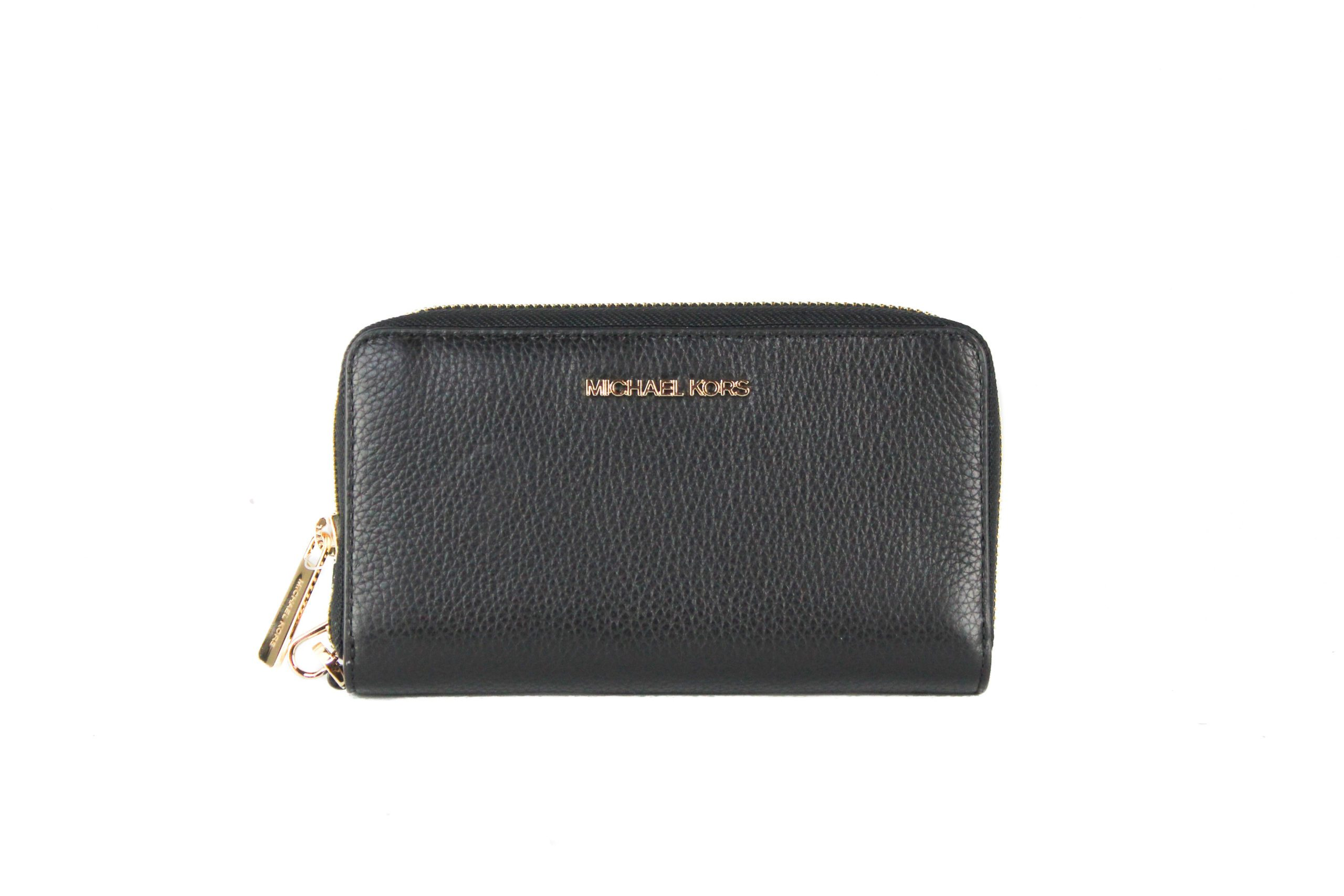 Michael Kors Women's Jet Set Wallet Black 39588