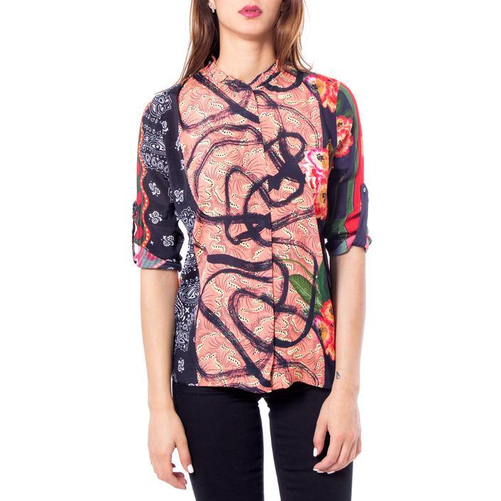 Desigual Women's Shirt Salmon 168941 - salmon S