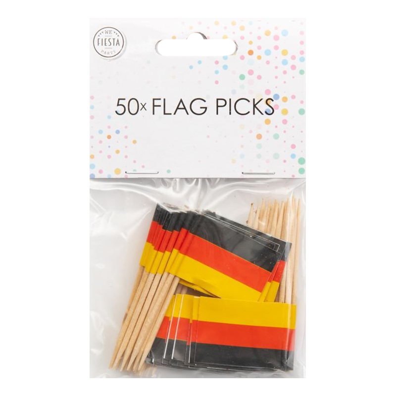 Partypicks Tyskland - 50-pack
