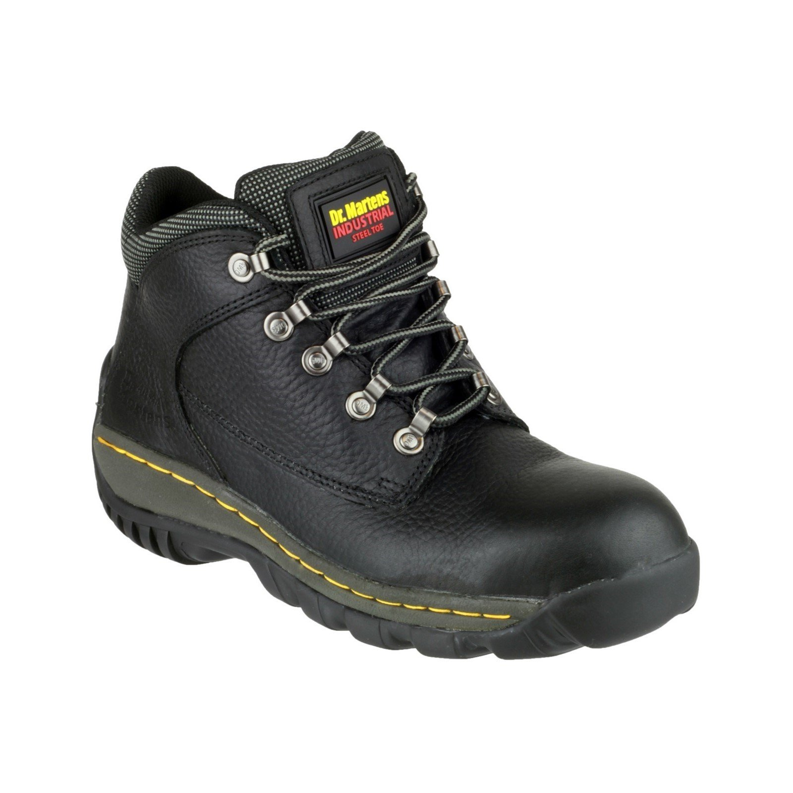 Dr Martens Unisex Lace-Up Boot Black 05207 - Black 10