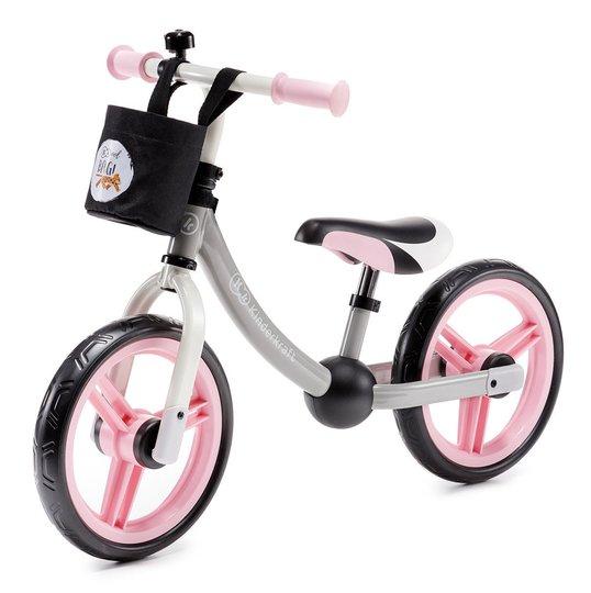 Kinderkraft Løpesykkel 2-way, Rosa
