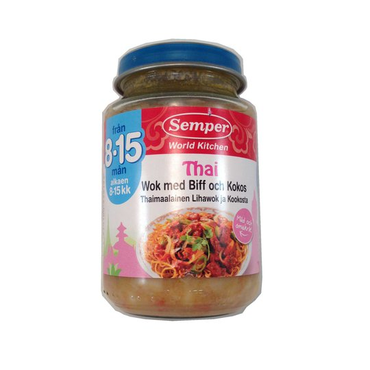 Barnmat thaiwok - 33% rabatt