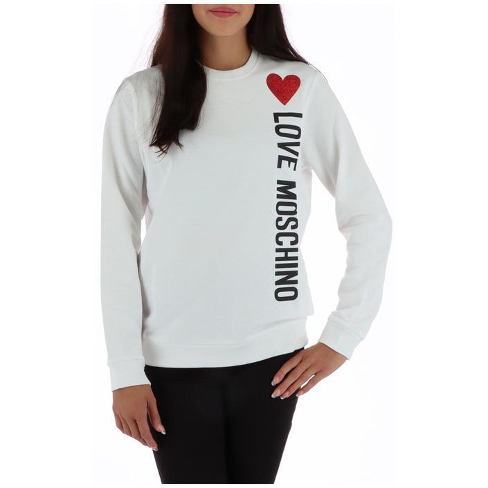 Love Moschino Women's Sweatshirt White 320519 - white 38