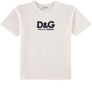 Dolce & Gabbana Logo T-shirt Vit 5 år
