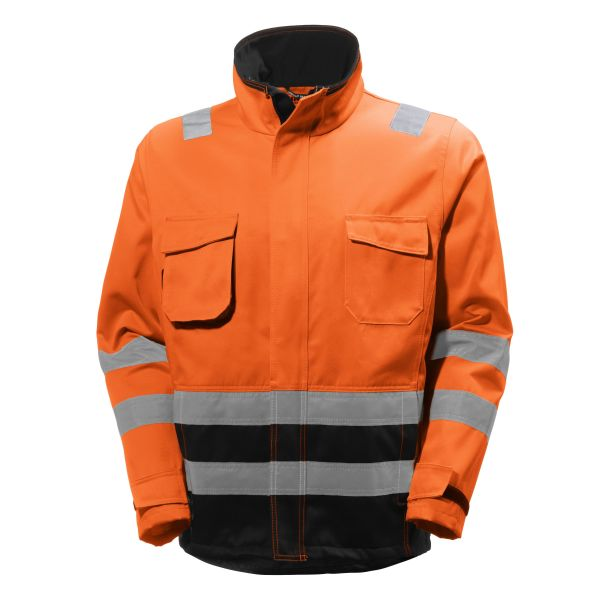Helly Hansen Workwear Alna Jacka varsel, orange/grå S