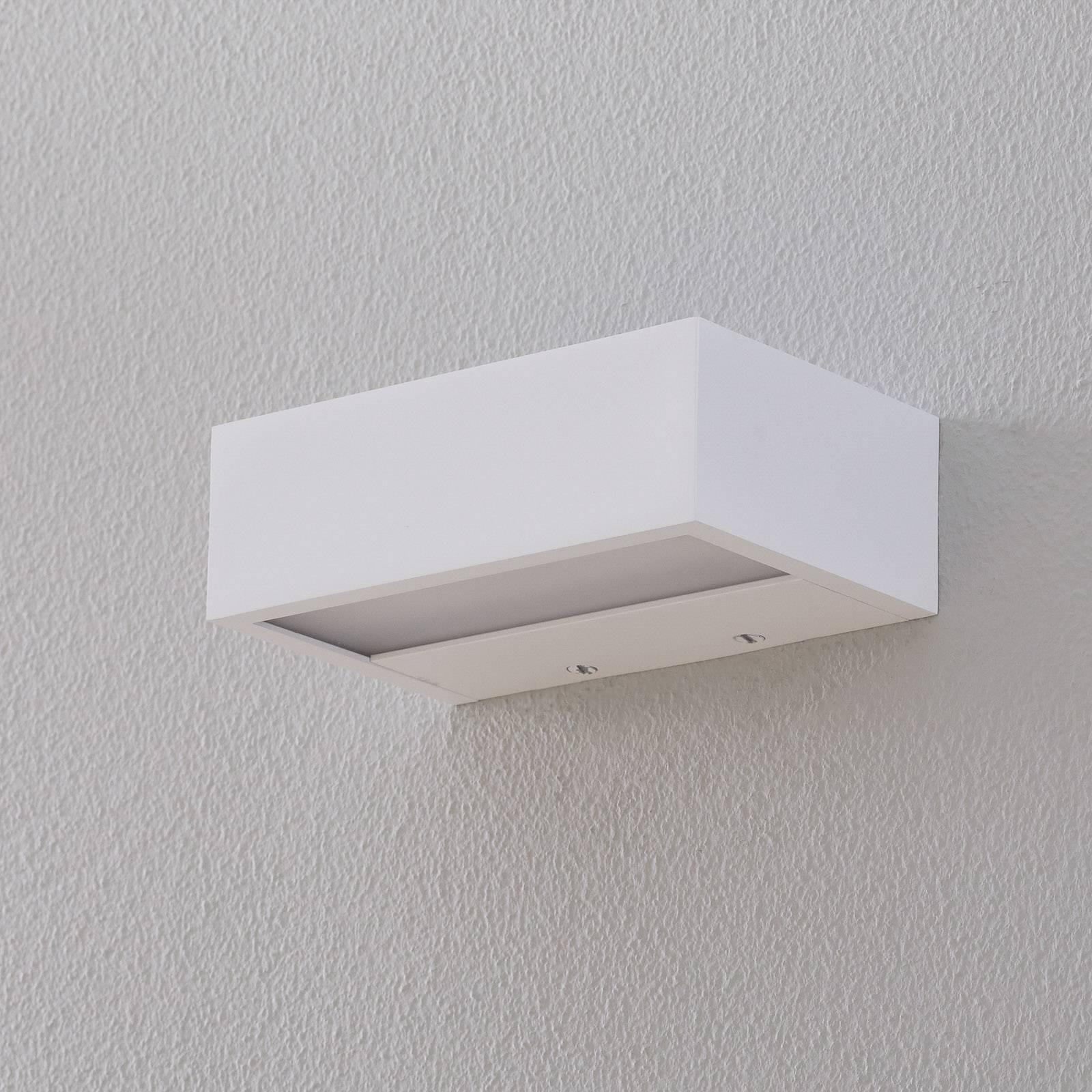 Decor Walther Box LED-seinävalo valkoinen 15cm