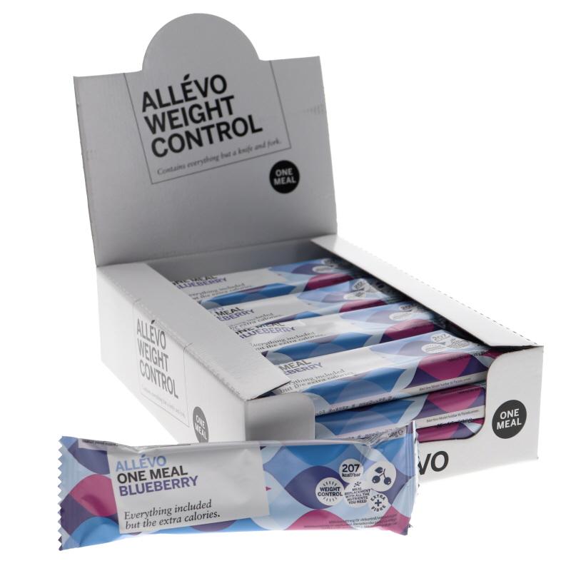 Mealbar Blåbär 20-pack - 85% rabatt