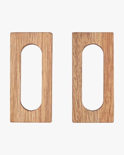 Servettirenkaat, Wood 2-pack