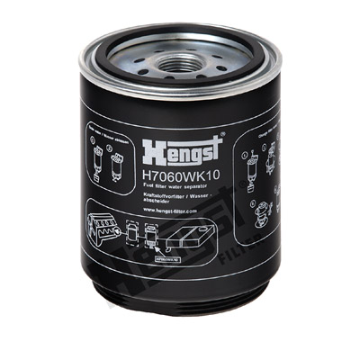 Polttoainesuodatin HENGST FILTER H7060WK10