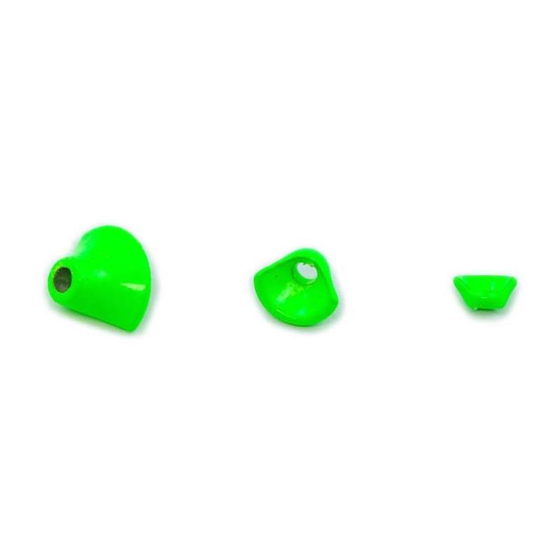 FITS 1/2 Turbo Cones Fl. Chartreuse S Frödin Flies