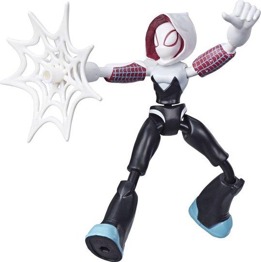 Spider-Man Bend And Flex Actionfigur Ghost Spider