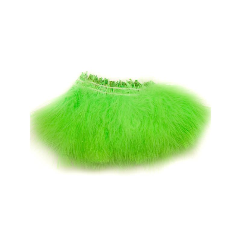 Marabou Blood Quill - Fl. Chartreuse