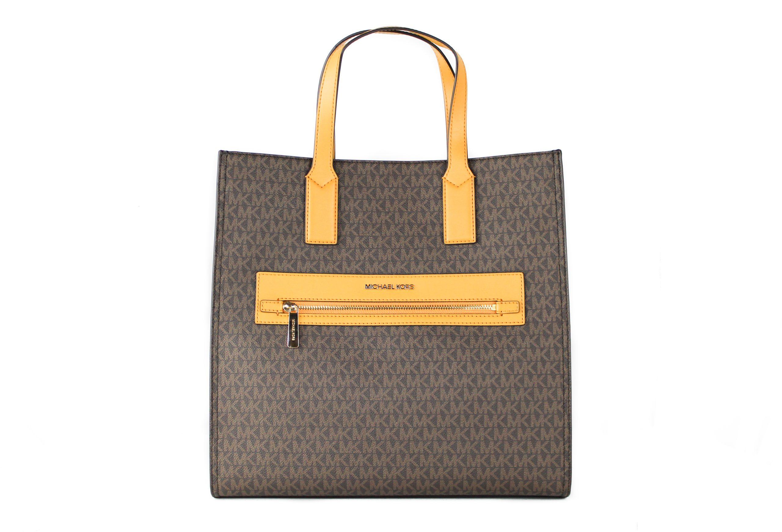 Michael Kors Women's Kenly Tote Bag Brown 81600