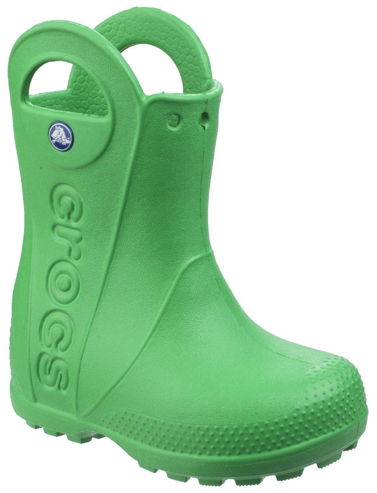 Crocs Kid's Rain Boot Various Colours 21080 - Grass Green 6 UK