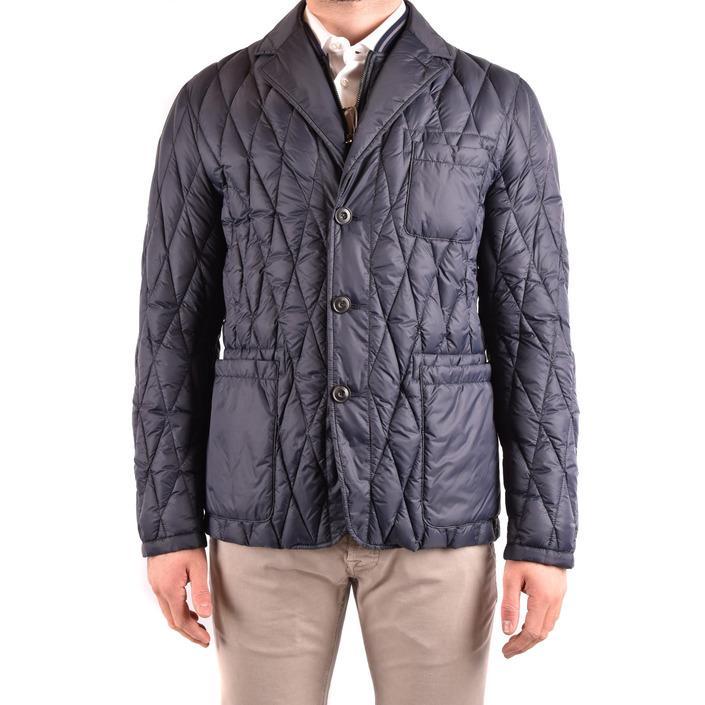 Hogan Men's Jacket Blue 186182 - blue S