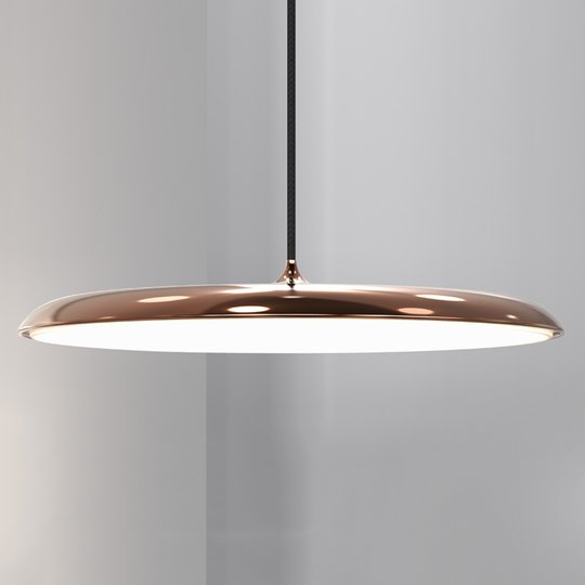 Artist 40 - tasainen LED-riippuvalaisin, kupari