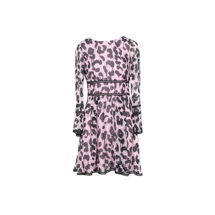 Boutique Moschino Women's Dress Multicolor 171589 - multicolor 46