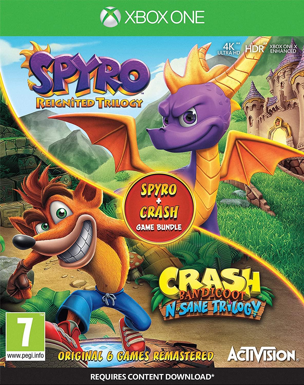 Crash Bandicoot N.Sane Trilogy + Spyro: Reignited Trilogy