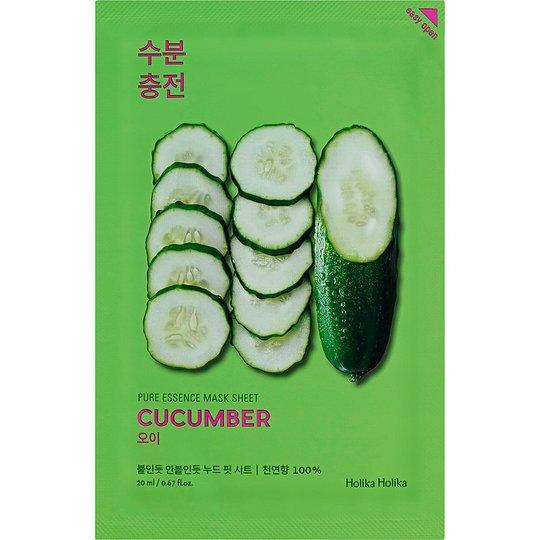 Holika Holika Pure Essence Mask Sheet - Cucumber, Holika Holika K-Beauty