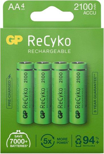 GP Batterier ReCyko AA 4-pack
