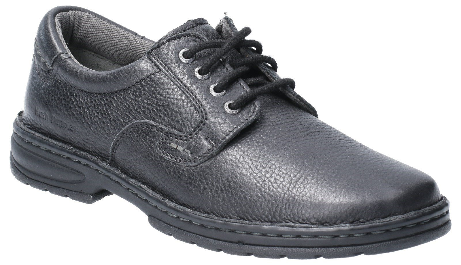 Hush Puppies Men's Outlaw II Lace Up Shoe Various Colours 29168 - Black 6