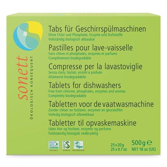 Sonett Maskindiskmedel, 25 tabletter