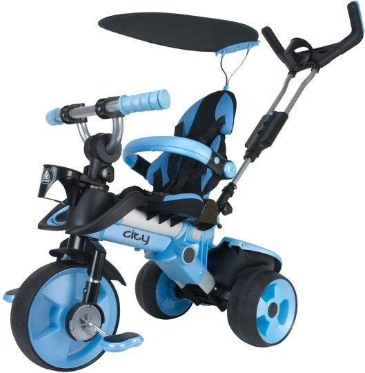 Injusa Trehjuling Trike City, Blå