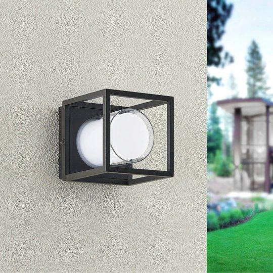 Lindby Heiderose utendørs LED-vegglampe