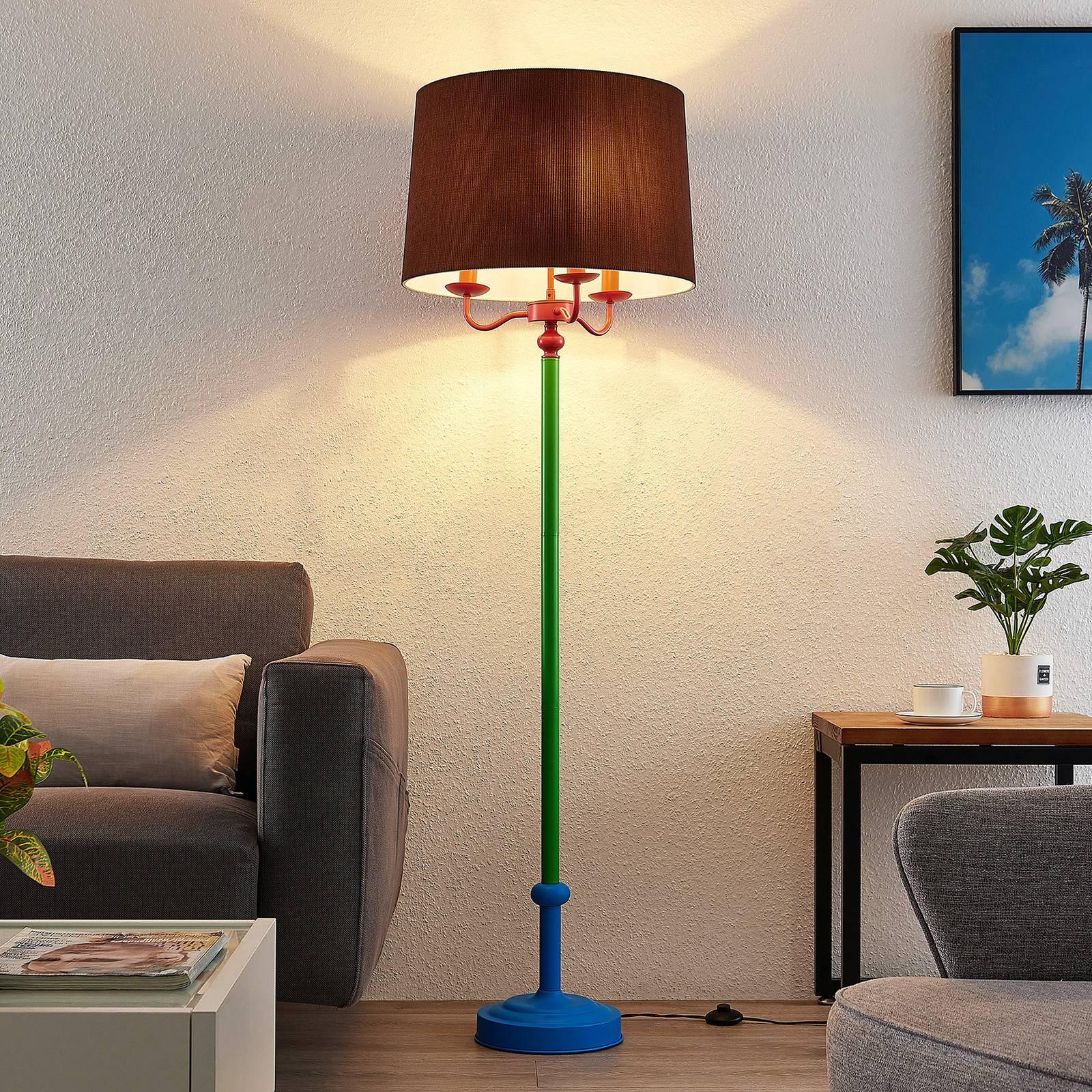 Lindby Christer -lattiavalo, monivärinen, 160 cm