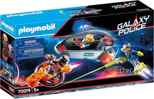 Playmobil 70019 Galaxy politiglidekjøretøy