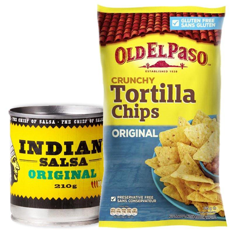 Tortillasipsit & Salsa - 70% alennus