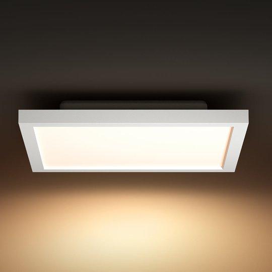 Philips Hue Aurelle LED-paneeli kulmikas, 30x30 cm