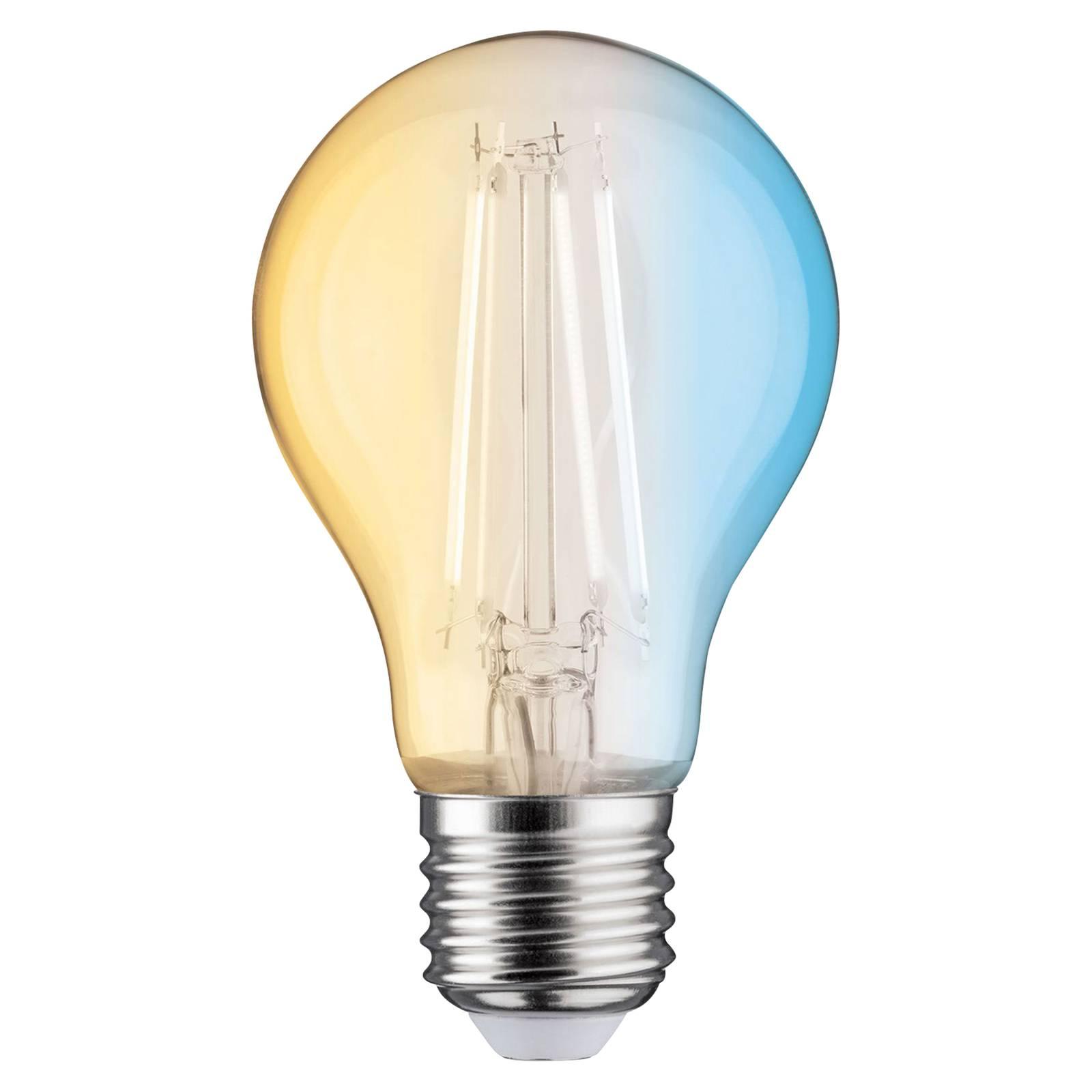 Paulmann-LED-filamenttilamppu E27 7W ZigBee CCT