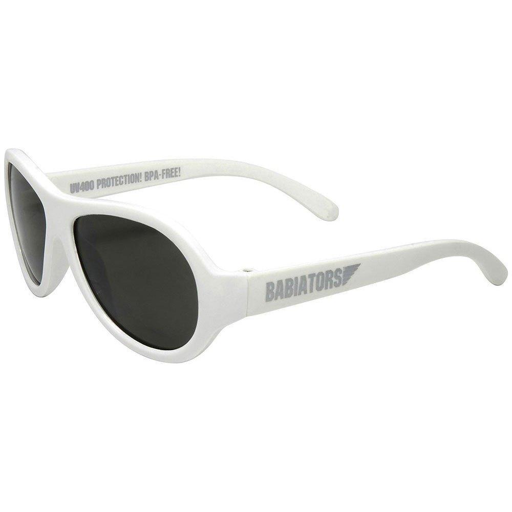 Babiators - Original Aviator Kids Sunglasses - Wicked White (3-7 år)