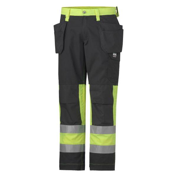 Helly Hansen Workwear Alta Työhousut huomioväri, keltainen/musta C46
