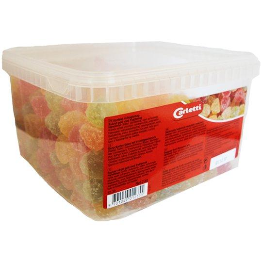 "Hel Låda Godis ""Fruktmarmelad"" 2kg - 51% rabatt"